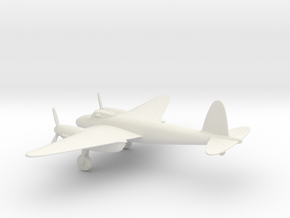 de Havilland DH.98 Mosquito B.IV in White Natural Versatile Plastic: 1:72