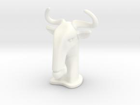 Wildebeest BIG in White Processed Versatile Plastic