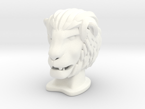 Lion BIG in White Processed Versatile Plastic