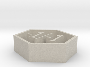 magic -1/-1 counter in Natural Sandstone