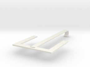 Shoes hanger in White Natural Versatile Plastic