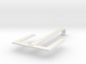 Shoes hanger in White Natural Versatile Plastic