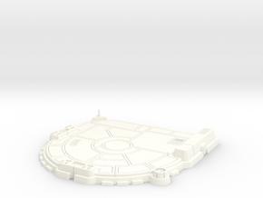 1/270 Rebel Landing Pad in White Processed Versatile Plastic