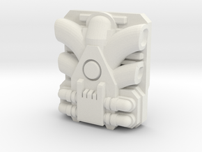 Giga PowerMaster Engine (Titans Return) in White Natural Versatile Plastic