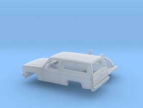 1/-87 1989-91 Chevrolet Blazer Kit in Smooth Fine Detail Plastic