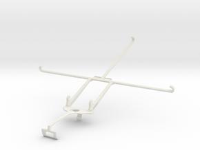 Controller mount for Xbox One S & Dell Venue 10 70 in White Natural Versatile Plastic