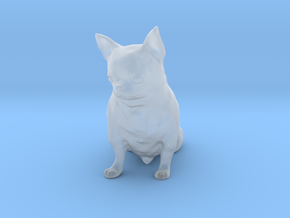 Scanned Chihuahua Dog -887 in Smooth Fine Detail Plastic