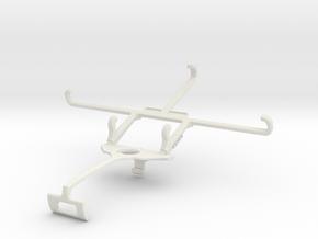 Controller mount for Xbox One S & Posh Titan Max H in White Natural Versatile Plastic