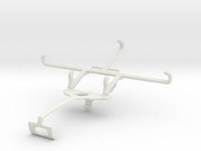 Controller mount for Xbox One S & Posh Kick X511 - in White Natural Versatile Plastic