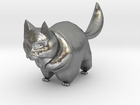 cute cat in Natural Silver: 1:12