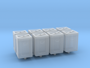 1/72 40mm Ammo Box Lid Closed Set in Smooth Fine Detail Plastic