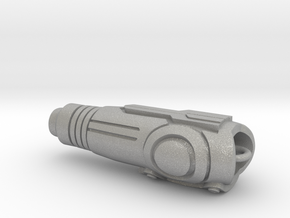 Arm Cannon Charm in Aluminum