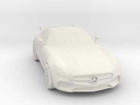 Mercedes AMG in White Natural Versatile Plastic