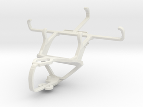 Controller mount for PS3 & QMobile T200 Bolt in White Natural Versatile Plastic