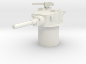 Stuart M5 Turret 15mm / 1/100 in White Natural Versatile Plastic