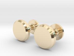 Milnerfield Hawking Cufflinks - Pair in 14K Yellow Gold