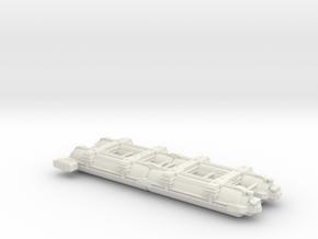 Omni Scale WYN Auxiliary Dreadnought (AxDN) SRZ in White Natural Versatile Plastic