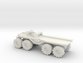 All-Terrain Vehicle with open cargo bed in White Natural Versatile Plastic