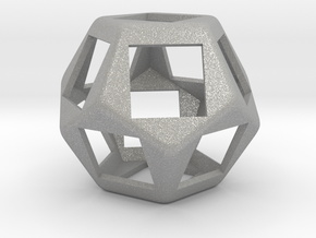 Fidget Dodecahedron for Cherry MX switches rev.2 in Aluminum