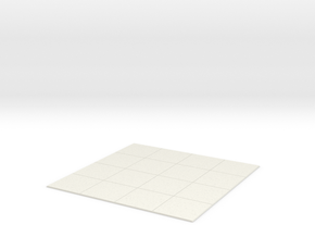 Tabletop Grid 4x4 in White Strong & Flexible