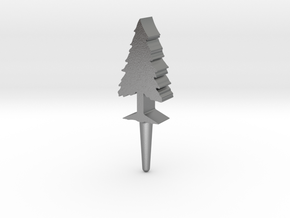 Tree Peg in Natural Silver