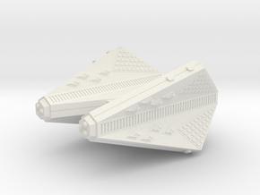 3125 Scale Tholian Heavy Carrier (CVA) SRZ in White Natural Versatile Plastic