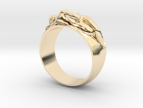 Ring EDEN Hot Ring  in 14K Yellow Gold: Small