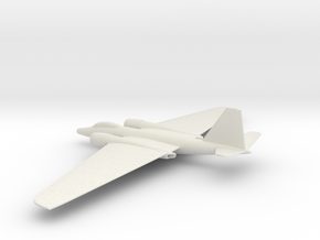 Martin WB-57F Canberra in White Natural Versatile Plastic: 1:200