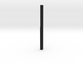 Picatiny12-tdc rail in Black Natural Versatile Plastic