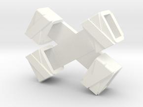 Ninja Sheath in White Processed Versatile Plastic