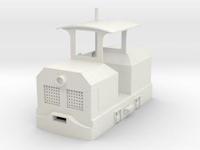 Vikfors diesel loco  in White Natural Versatile Plastic: 1:24