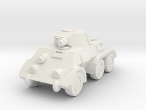 1/160 Pantserwagen DAF M39 in White Natural Versatile Plastic