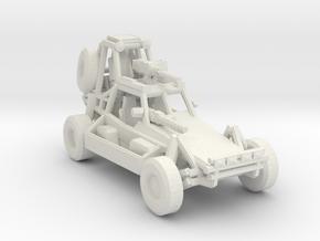Desert Patrol Vehicle v2 1:285 scale in White Natural Versatile Plastic