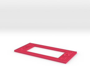 Shellfish Gauge in Pink Processed Versatile Plastic