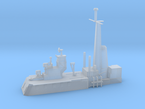 1/500 Scale CLG Aft Structure in Smooth Fine Detail Plastic