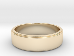 xavier wedding band in 14K Gold