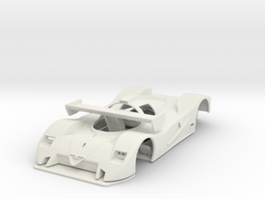 1:32 FULL SLOT CAR ALFA ROMEO SE048 GROUP C  in White Natural Versatile Plastic