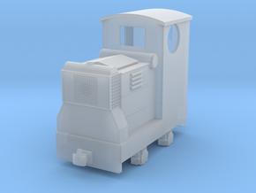 55n9 Ruston 18hp diesel with Cab in Smooth Fine Detail Plastic