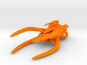 Vorlon Dreadnought Armada scale in Orange Processed Versatile Plastic