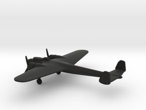 Dornier Do 17P Flying Pencil in Black Natural Versatile Plastic: 1:200