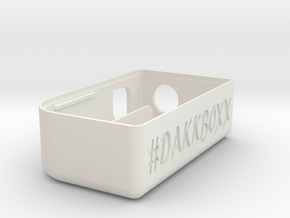#DAKKBOXX in White Natural Versatile Plastic