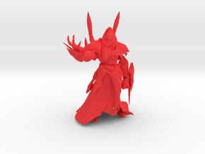 1/32 Alarak Power Pose High Detail in Red Processed Versatile Plastic