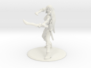 Classic Katarina in White Natural Versatile Plastic