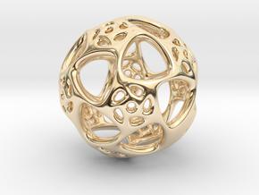 TILD - Lucid Dream Totem. in 14k Gold Plated Brass