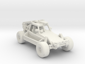 Advance Light Strike Vehicle v2 1:285 scale in White Natural Versatile Plastic