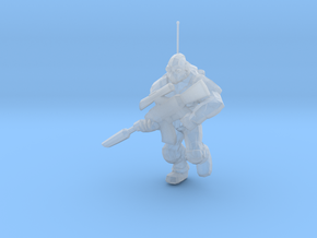 1/60 SC Ghost Soldier Running in Smoothest Fine Detail Plastic