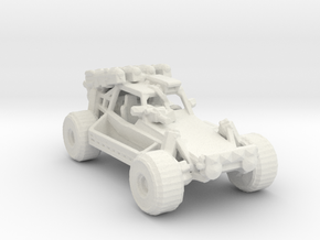 Advance Light Strike Vehicle v3 1:285 scale in White Natural Versatile Plastic