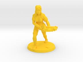 BoltMaster Veruca in Yellow Processed Versatile Plastic