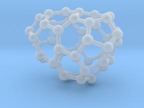 0629 Fullerene c44-7 d1 in Smooth Fine Detail Plastic