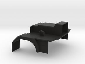 FTF cabine vloer 1:24 in Black Natural Versatile Plastic